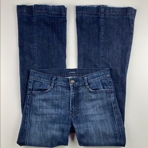 7 for All Mankind Flares  Midrise w/back buckle